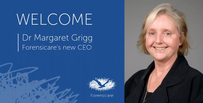 Margaret Grigg Forensicare CEO