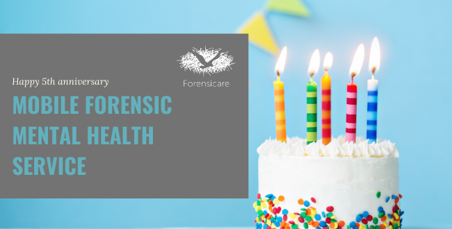 Mobile forensic mental health service celebrates fifth birthday