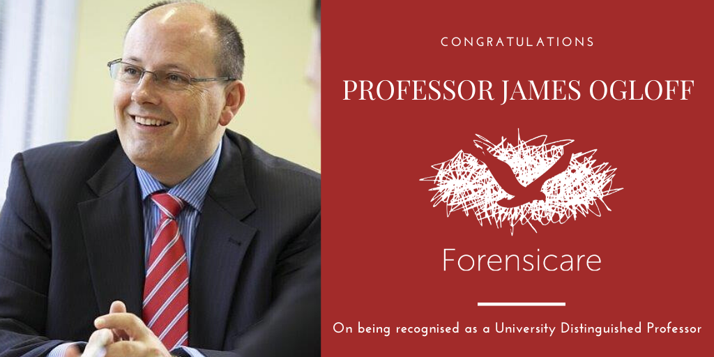 Professor James Ogloff recognised as a Distinguished University Professor