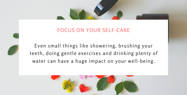 Focus on your self-care and mental health during covid-19