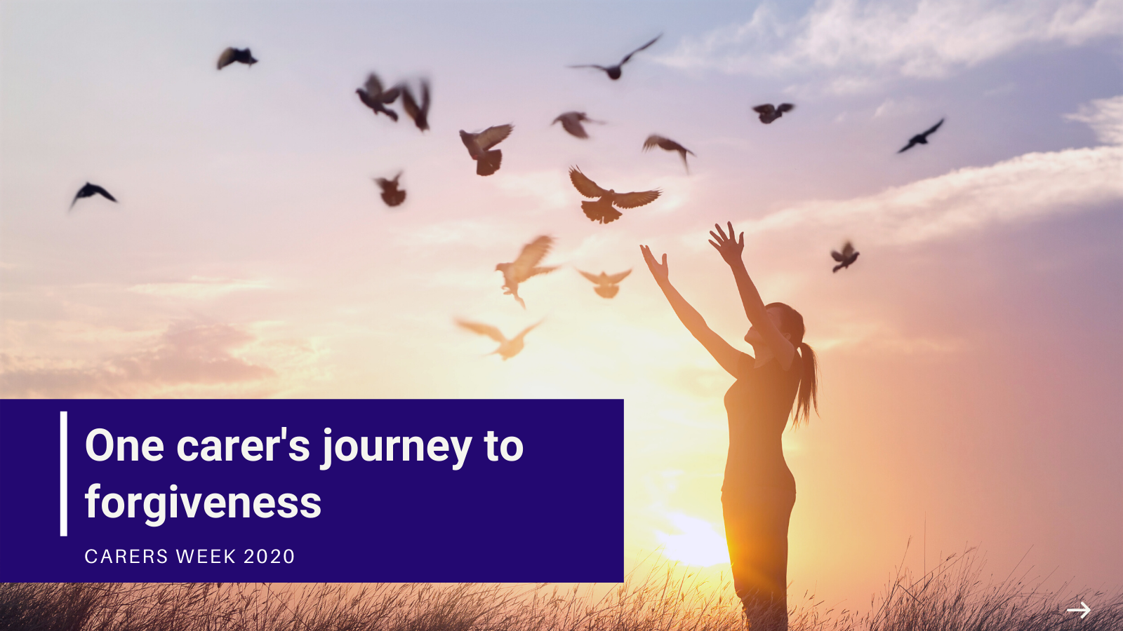 One carer's journey to forgiveness, Carers Week 2020