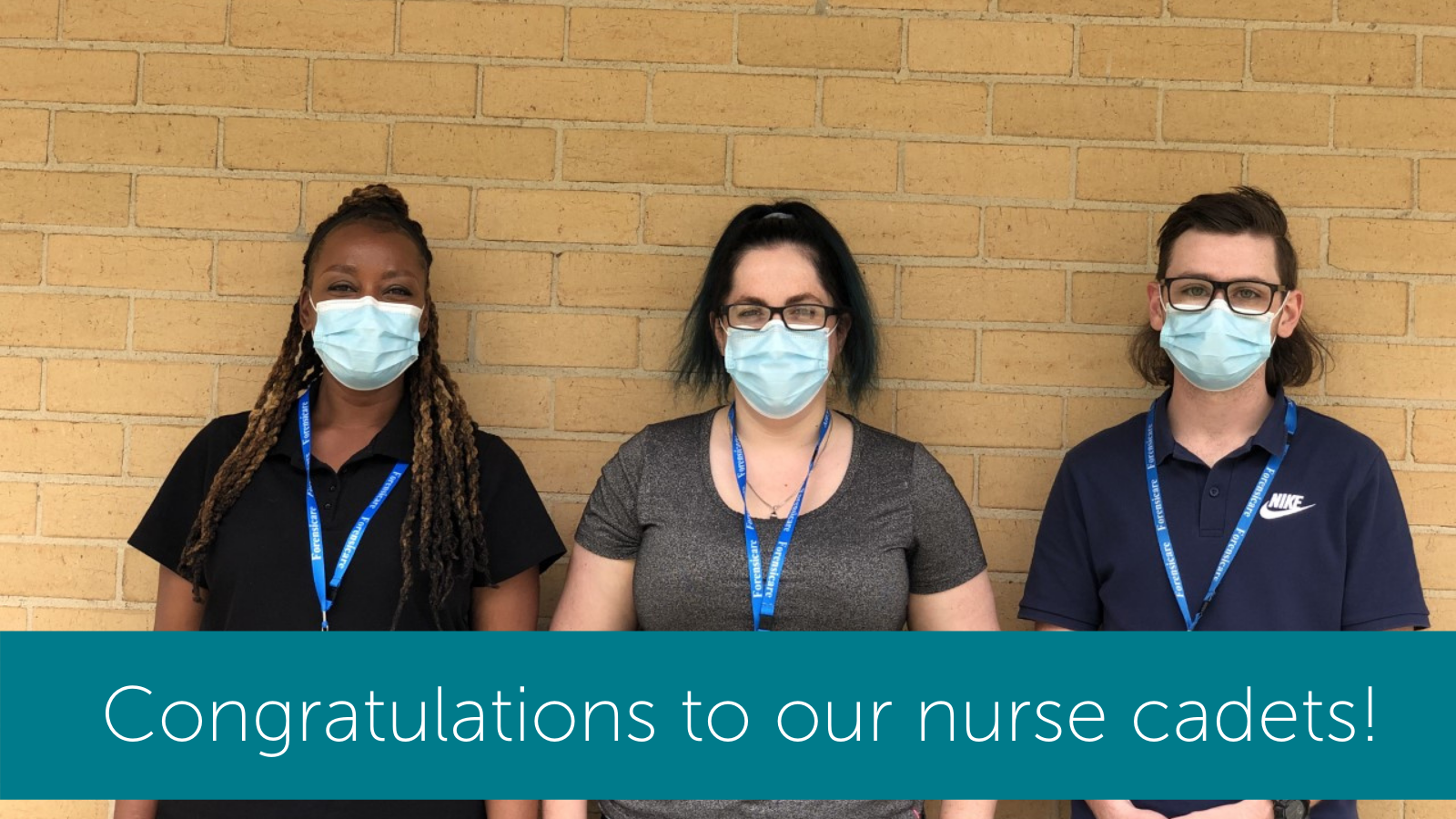 Congratulations to our mental health nurse cadets from our nursing cadetship